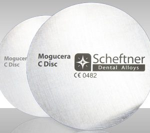 Mogucera dental alloy C disc