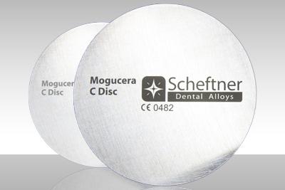 Mogucera dental alloy C disc