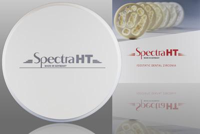 Spectra: High Translucency White Zirconia