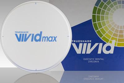 VIVID Max Anterior Translucency Zirconia
