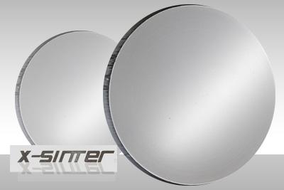 X-Sinter metal alloy milling disc