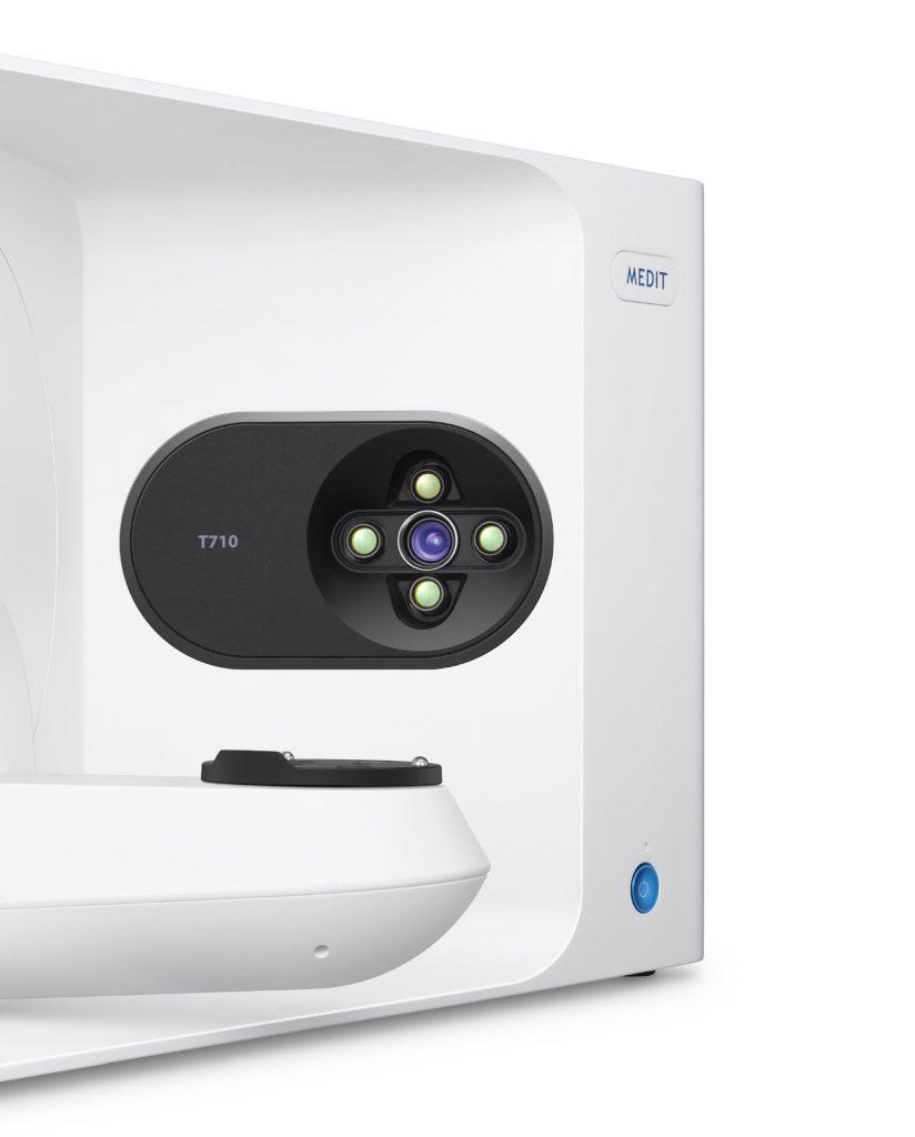 Medit T-Series desktop scanner