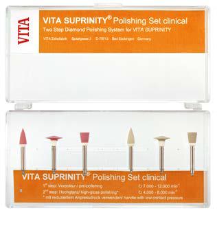 VITA SUPRINITY Polishing Set clinical